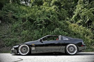 18 Staggered Varrstoen ES111 5x114 3 Silver Wheel Fit 300zx 240sx