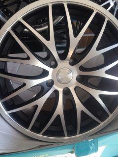 19 Rims 5 Lug 5x112 Audi A4 A5 A6 Mercedes Benz C Class E Class s