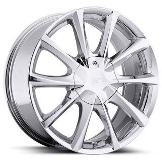Platinum Etwine Chrome Wheel Rim 5x112 E550 R Class CL Class