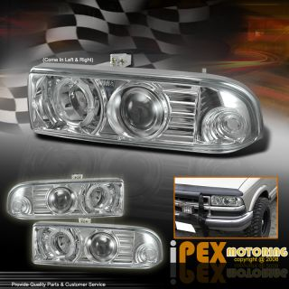 98 04 Chevy S10 Blazer Halo Rims Projector Headlights