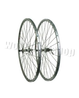 Silver Rims Miche QR Hubs Front Rear Road Race Bike Wheels