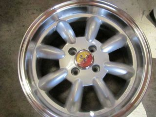 FIAT 500, 124,SILVER MONZA WHEELS BLACK FRIDAY PRICES! COMPETIZIONE