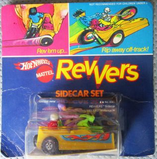 Hot Wheels Revvers Side Car and Preying Mantis Bob Rosas Collecion