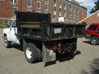 One Ton Dually 4 Wheel Drive Chevy Dump Truck