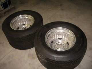 15 Mickey Thompson Sportsman Pro Street Tire MT on Alum Rims