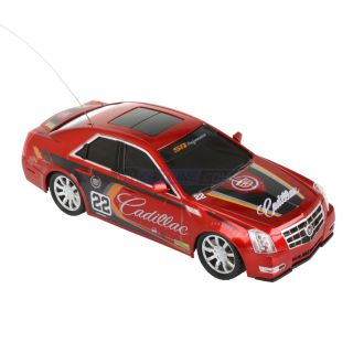 Mega Motors Radio Control Cadillac cts RC Racing Car Red