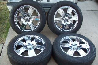 20 Ford Expedition Wheels Rims Chrome Limited 07 11 08 09 10 Factory