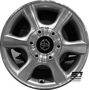 Refinished Toyota Solara 1999 2004 16 inch Wheel Rim