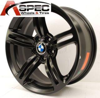 19 BMW 525 540 545 645 650 745i Black 5x120 Wheel Rims