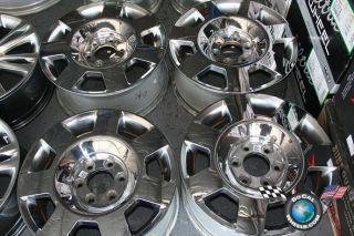 Lincoln Navigator Factory 18 Wheels OEM Rims Mark LT 3596 5L74 1007 AB