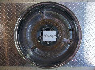 07 08 GSXR 1000 Rear Chrome Wheel Rim Straight Str8
