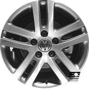 Volkswagen Jetta 2005 2007 16 inch Compatible Wheel R