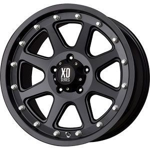New 18x9 5x150 XD Addict Black Wheels Rims