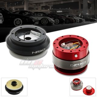 NRG SRK 130H Steering Wheel Short Hub Adapter Gen 2 0 Red Quick