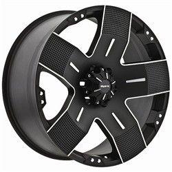 16 inch Ballistic Hyjak Black Wheels Rims 6x5 5 6x139 7 Titan FJ