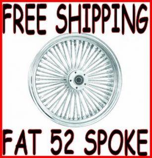 52 MAMMOTH SPOKE 21 X 3 5 FRONT WHEEL RIM 84 1999 HARLEY TOURING FLHT