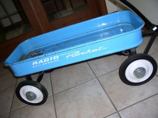 Radio Ball Bearing Rocket Powder Blue Wagon