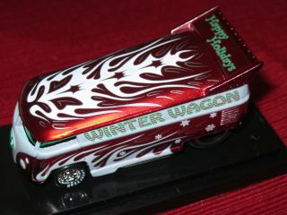 Hot Wheels Liberty Promotions VW DRAG BUS 09 Holiday Winter Wagon 119