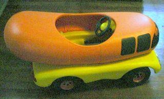 Vintage Oscar Mayer Foods Wienermobile Pedal Car RARE