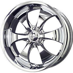 New 22x9 5 6x139 7 Liquid Metal Chrome Wheels Rims