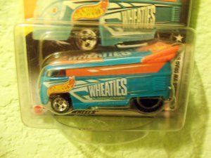 Hot Wheels Customized VW Drag Bus Wheaties