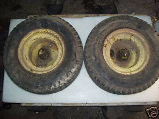 John Deere 140 Front Rims and Tires 16x6 50 8