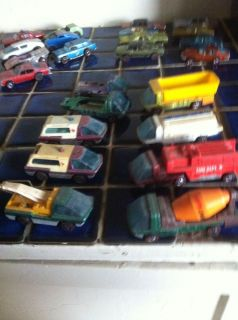 Lot of 7 Redline Hot Wheels Heavyweights Rough Condition