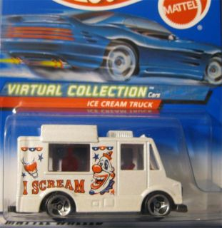 Hot Wheels Virtual Collection Ice Cream Truck 144 V