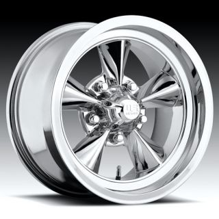Wheel Set FOOSE Style Rims Chrome 15 Wheels Torque Thrust