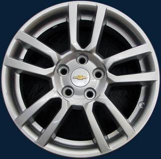 Chevrolet Sonic 16x6 Silver 10 Spoke 5525 Aluminum Wheel Rim 95040757