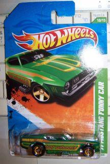 11 Hot Wheels Super Treasure Hunt 71 Mustang Funny Car