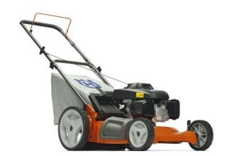 Honda Gas Powered 3 N 1 Push Lawn Mower w High Rear Wheels