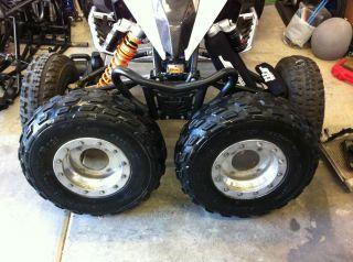 DWT Beadlock Wheels Tires ATV Honda Kawasaki Suzuki 4x144 Bolt Pattern