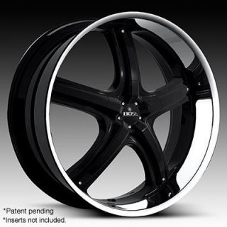 Chevy Denali Escalade Avalanche 24 Black Wheels Rims