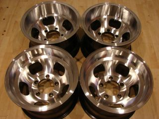 15x10 5x5 5 Crager RI Slot Rims Mags Wheels Jeep Ford F150 Bronco