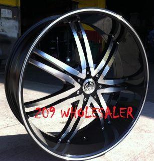 24 inch B14B Rims Tires Escalade Yukon Tahoe Sierra H3 F150 Expedetion