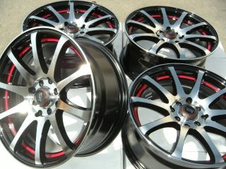 17 Wheels Rims Aveo Civic Accord Corolla Ion Cobalt Fit Yaris Miata