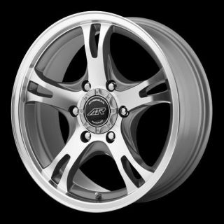 American Racing AR89878055400 AR898 Wheel 17 x 8 Silver 5x5 5