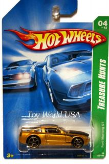 2008 Hot Wheels Treasure Hunt 164 05 Ford Mustang GT