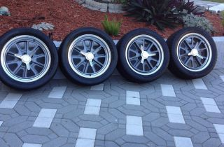 Shelby Cobra American Racing Wheels w Nitto Tires VN427 Set of 4