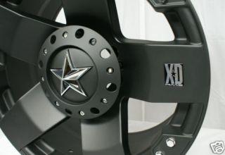 20 inch Black KMC XD Toyota Tundra 5x150 Wheels Rims