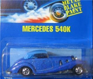 Hot Wheels Blue Card Mercedes 540K 164