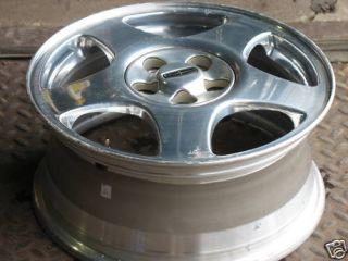 Lincoln LS 16x7 Wheel Rim Bright Polished 2000 01 2002