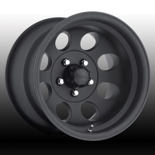 Motorsport Lt Mod 164B Black Wheels 8 Lug 8x6 5 Chevy Dodge
