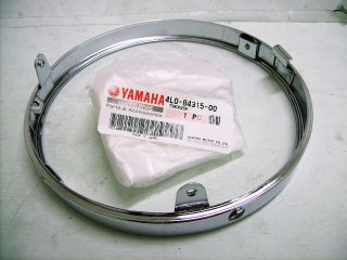 Yamaha RD250LC RD350LC Headlight Rim NOS RD350 LC Outer Ring 4L0 84315