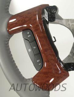 07 2012 GMC Steering Wheel Burl Spoke Covers