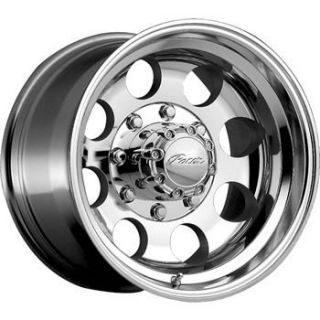 16x8 Polished Wheel Pacer Lt 7x150 F 150 XL 7 Lug Rims