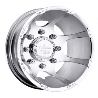 17 inch Vision Crazy Eightz Chrome Dually Rims 8x170