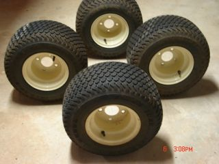 Golf Cart Tires and Wheels Slightly Used Off Yamaha