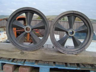 MAGNESIUM TORQ TORQUE THRUST Spindle Mount WHEELS GASSER RAT ROD